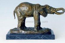 2011 Hot sale animal bronze elephant sculpture
