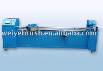 Hot mell machine for roller brush