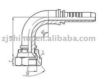 "Metric Female 74""CONE Seal Fittings/hydraulic fittings/hydraulic adapter"