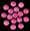 C127 Unakite Jasper Puffy Coin Cabochon semi-precious gem stone