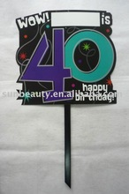 Party Outdoor Sign-40 Years Old