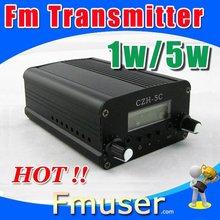 12FSN low power fm transmiter 5w transmisor de fm CZH-05C