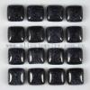 C149 Blue Sand Stone Puffy Square Cabochon semi-precious jewelry