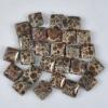 C181 Frog's Eye Jasper Puffy square Cabochon jewelry