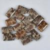 C182 Frog's Eye Jasper Puffy Rectangle Cabochon semi-precious gemstone