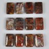 C195 Pietersite Gemstone Puffy Rectangle Cabochon semi-precious gemstone