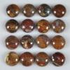 C196 Pietersite Gemstone Puffy Round Cabochon semi-precious gemstone