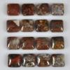 C198 Pietersite Gemstone Puffy Square Cabochon semi-precious gemstone