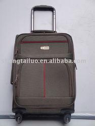 4wheels press button trolley luggage