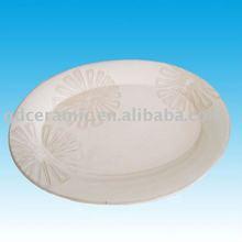 Ceramic Oval Dish/Plate