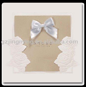 Classical Wedding Invitation Cards