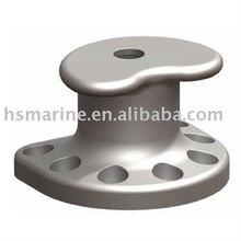Marine kidney type bollard