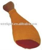 Chicken Plush Dog Toy