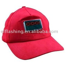 2012 newest EL flashing Cap