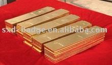 gold plated ingot