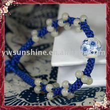 Blue-white porcelain weave jade jewelry