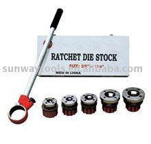RATCHET DIE STOCK, TYPE SWB