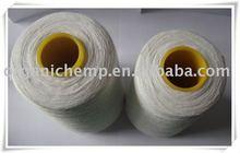 GOTS certified 100% Organic Linen Yarn 13.5Nm for clothing