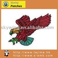 custom eagle embroidery design