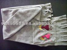 Fashion fleece scarf
