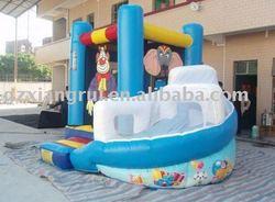 Safari Bounce and Slide - Inflatable Bounce House