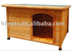 HF pet-wooden dog house,wooden dog kennel