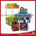 Caixa de exibição com design personalizado