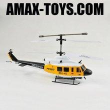 rh-u5 Bell R/C 3CH Gyro Military big toy helicopters