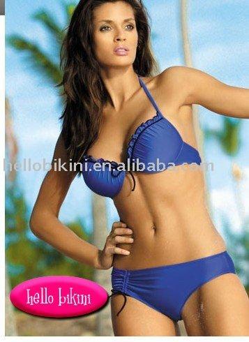 bikini customer fashion bikini 2011 1.82%nylon ,18%spandex,190-200gsm. 2
