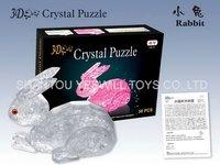 Rabbit 3D DIY Crystal Puzzle