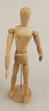 """16"""" Adjustable Hardwood Female Manikin"""