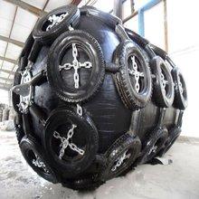wharf rubber fender D=3m L=5m