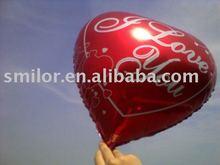18Inch I Love You Heart-Shaped Foil Balloon B
