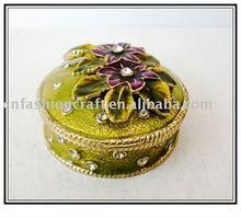 Flower decorative jewelry box (NW1252)