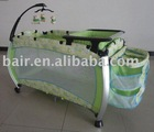 Light Green Toy Bar Baby Cot