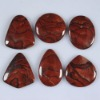 C265 Red Picture Jasper Cabochon semi-precious gemstone