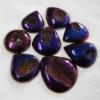 C270 Mysterious Agate Druzy drusy Cabochon semi-precious gemstone