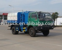 special-purpose vehicle HLQ5091ZZZE Self-loading Garbage Truck