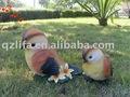 farbe harz handwerk tierfiguren sensor singvogel mit blume
