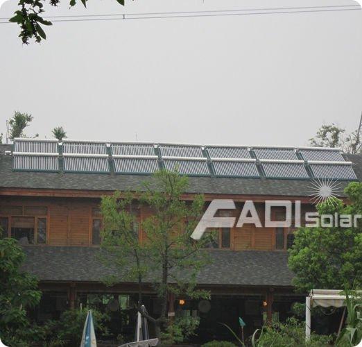 Non-pressurized Solar Collectors For Resort (30Tube)