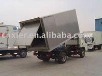 Dump Garbage truck, Medical garbage truck, medical garbage van