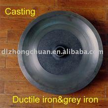 Big cast iron parts