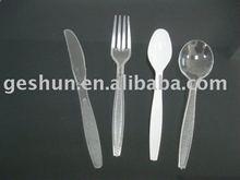 plastic cutlery set/spoon/fork/ knife