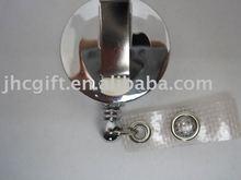 badge holder metal