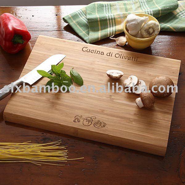 Carve Bamboo Cutting Board