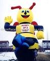 nuevo 2011 inflables de dibujos animados de la abeja