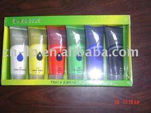 6colors*75ml super quality Acrylic color set