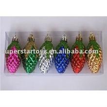 beautiful plastic deal apple christmas pendant