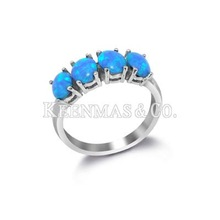 Our KMS 2011 new design, 925 sterling silver rings with opal. Fashionable rings.