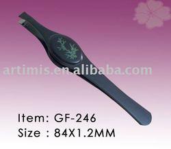 GF-247 slanted slant tweezers for eyebrow